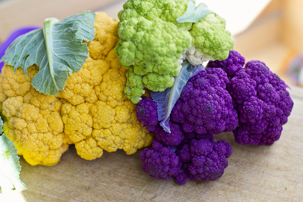 colorful cauliflower simple life by keys