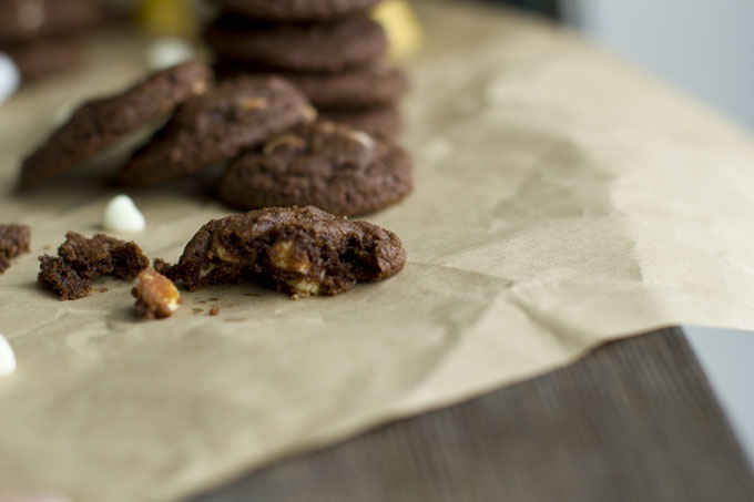 whole wheat chocolate cookies simple life by kels