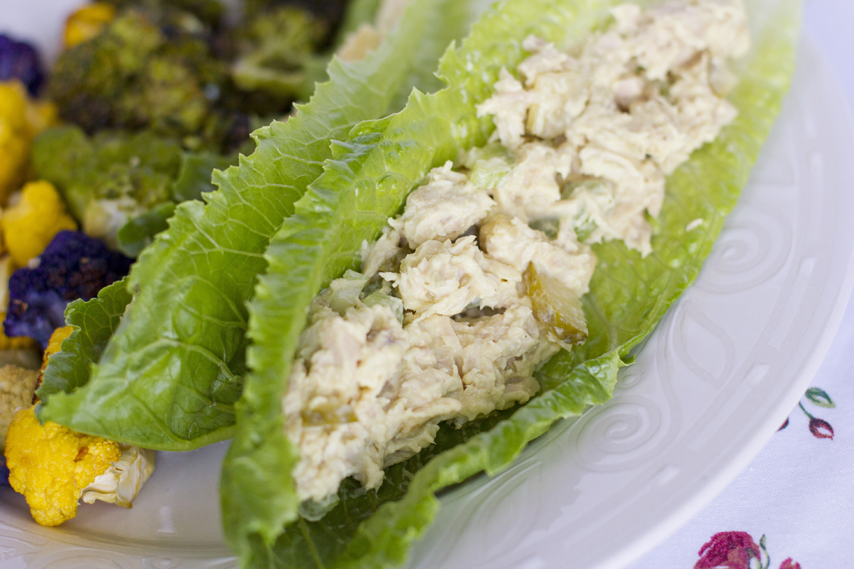 tuna salad boats simple life by kels
