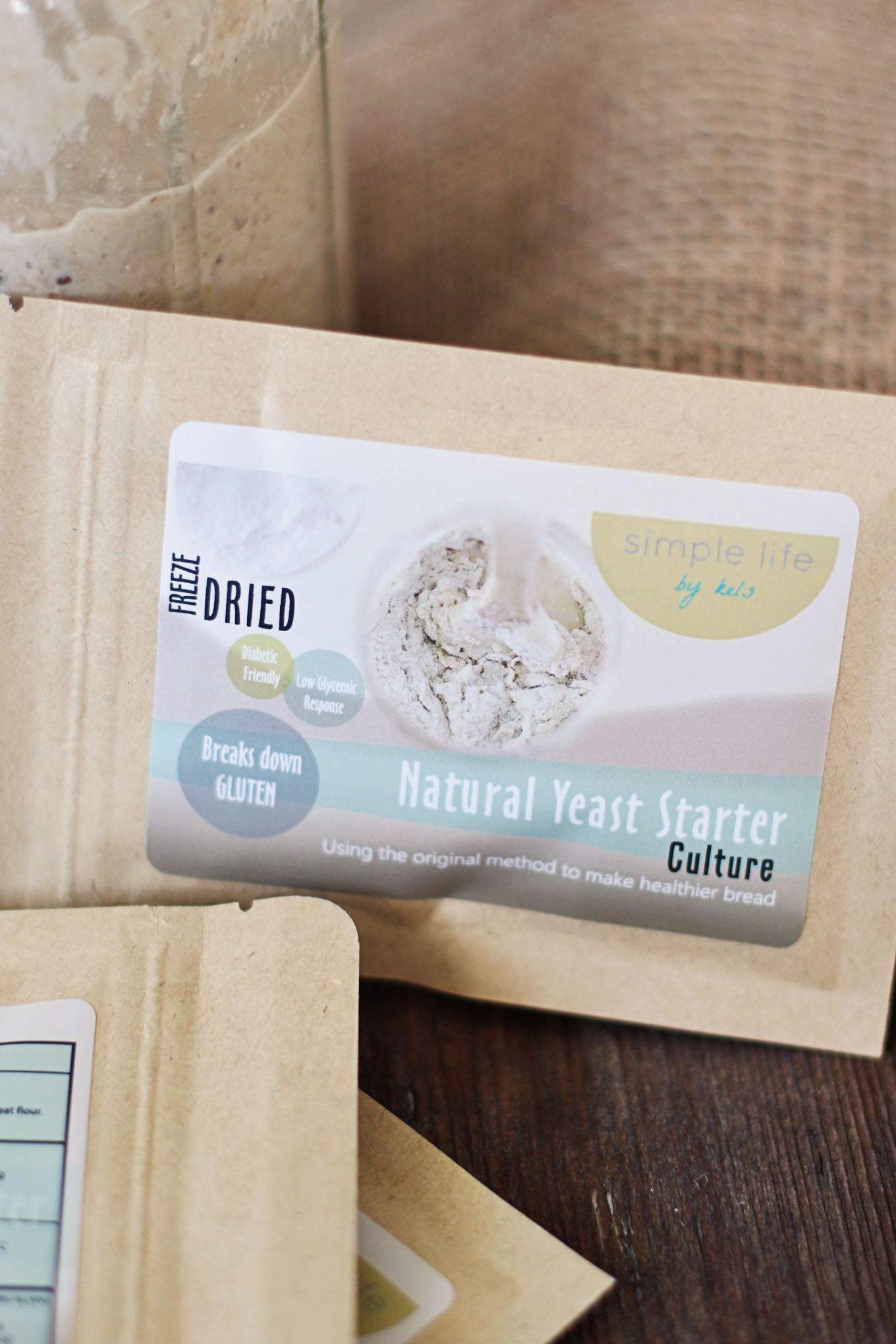 freeze dried natural yeast