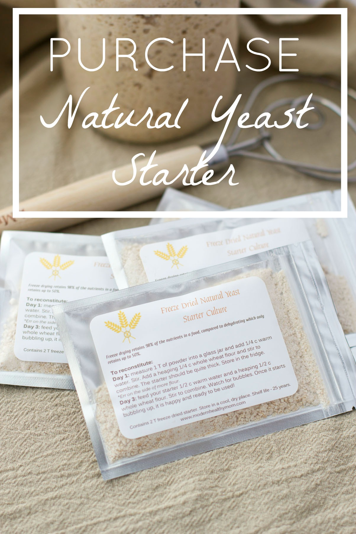 Purchase Natural Yeast Starter