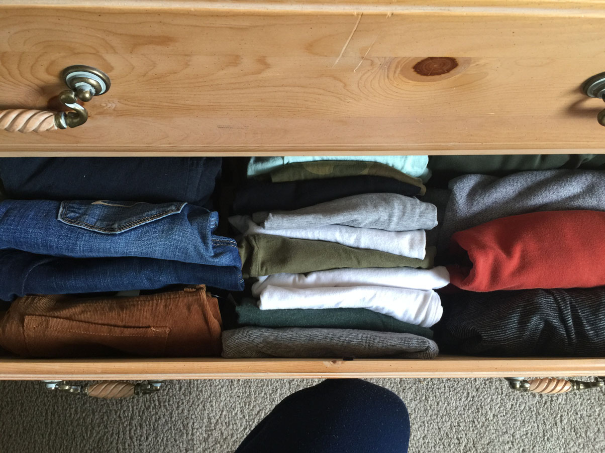 konmari drawer simple life by kels
