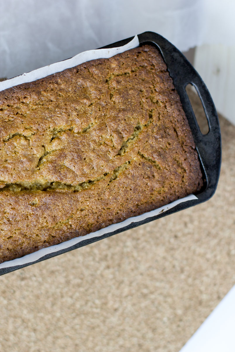 banana bread, whole wheat