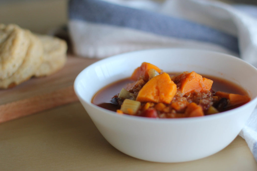 sweet potato quinoa chili simple life by kels