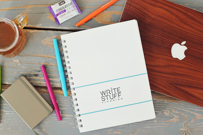 write stuff planner simple life by kels