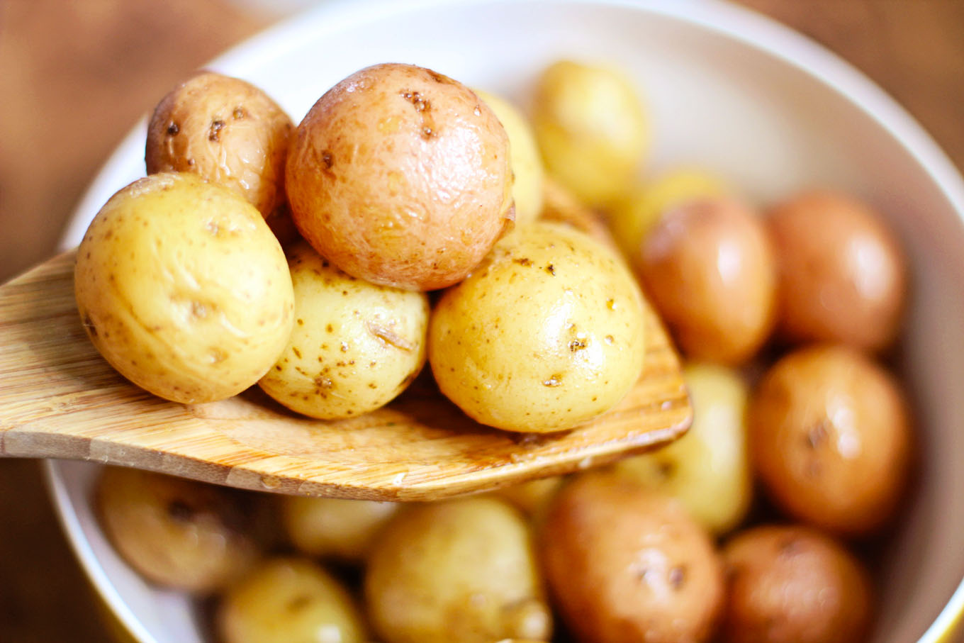Easy Roasted Whole Baby Potatoes Using The Instant Pot Simple Life By Kels
